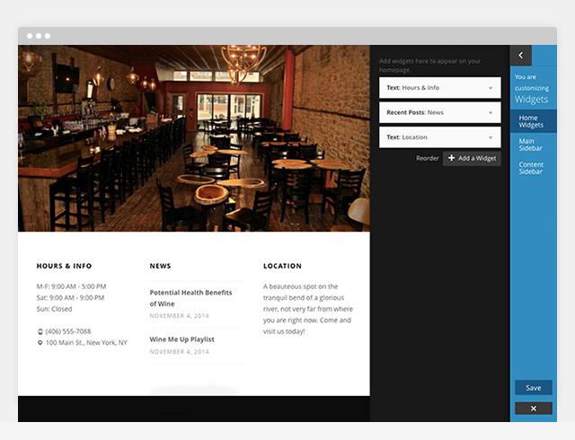 Nowell - Homepage Widgets