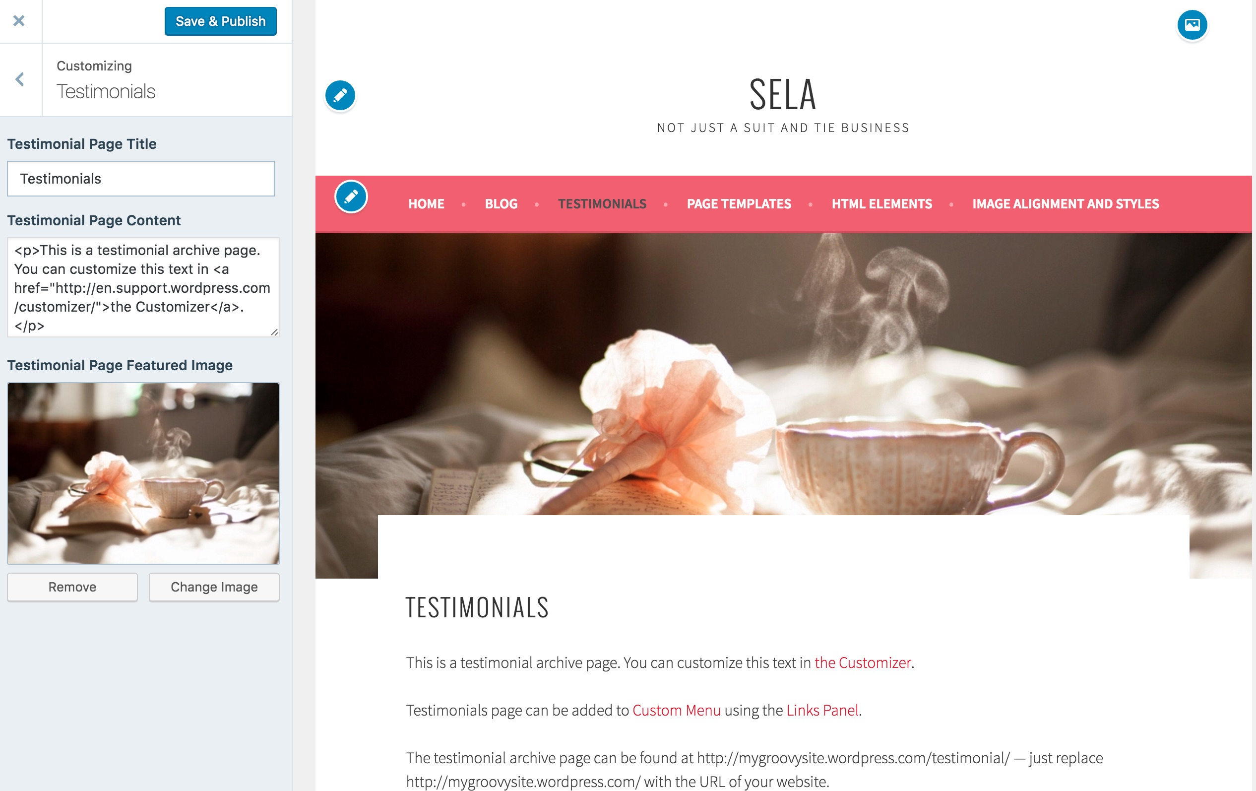 sela theme  u2014 wordpress com