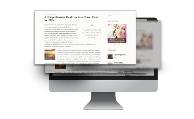 Typography Dicot WordPress Theme