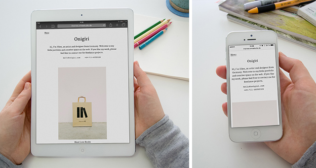 Onigiri responsive Design