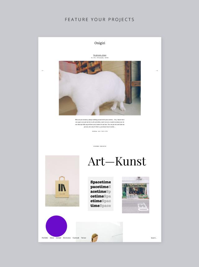 Onigiri Portfolio Project