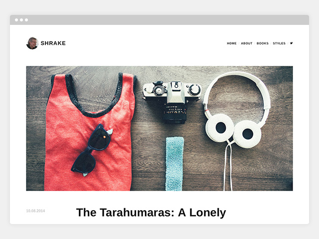 Shrake: Featured Images