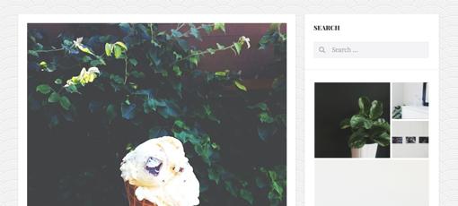 Blog Post Sidebar on Curator