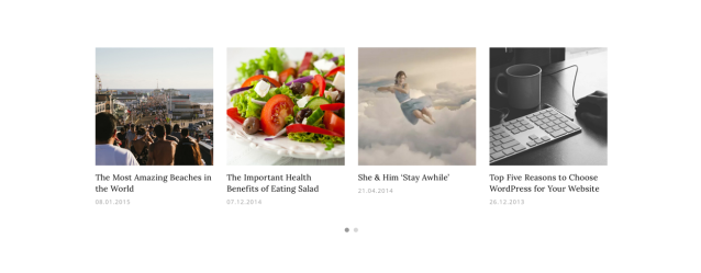 Dicot WordPress Theme Featured Content