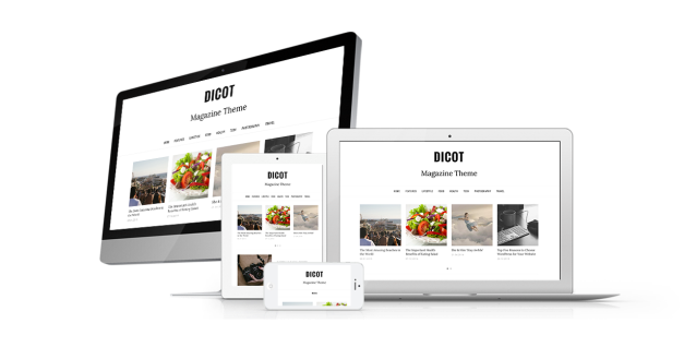 Dicot Responsive WordPress Theme