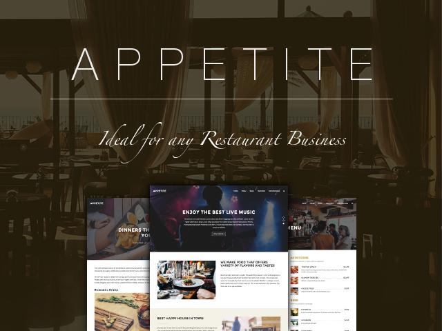 Appetite: Banner