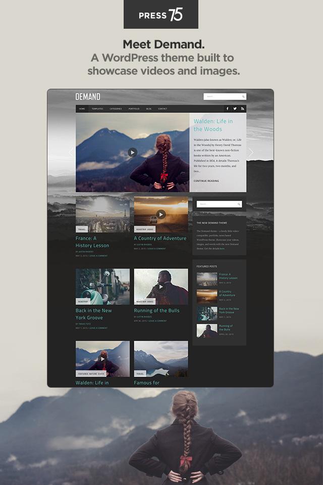 Demand Theme — WordPress.com