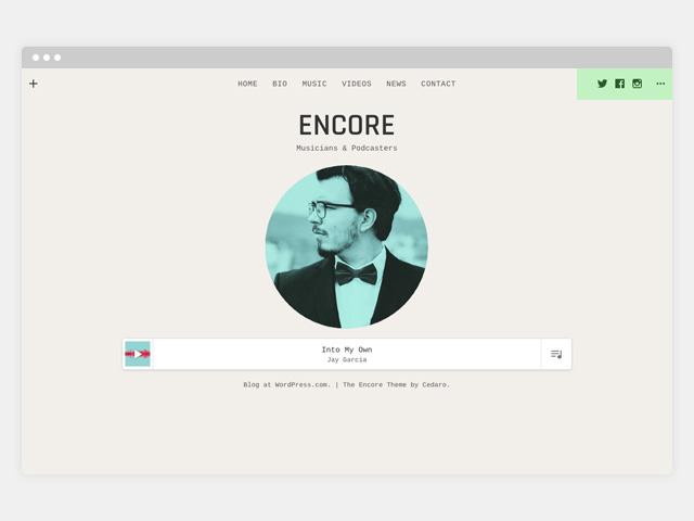 Encore: Social Icons