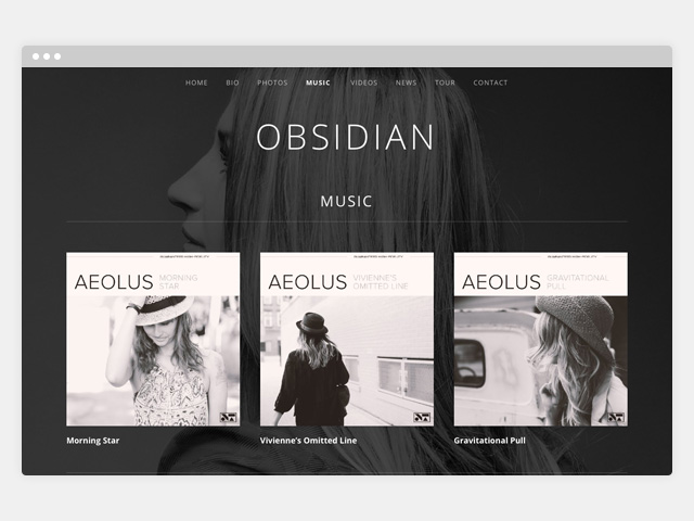 Obsidian: Discography