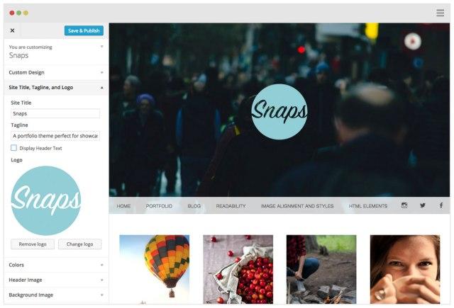 snaps-customize-logo