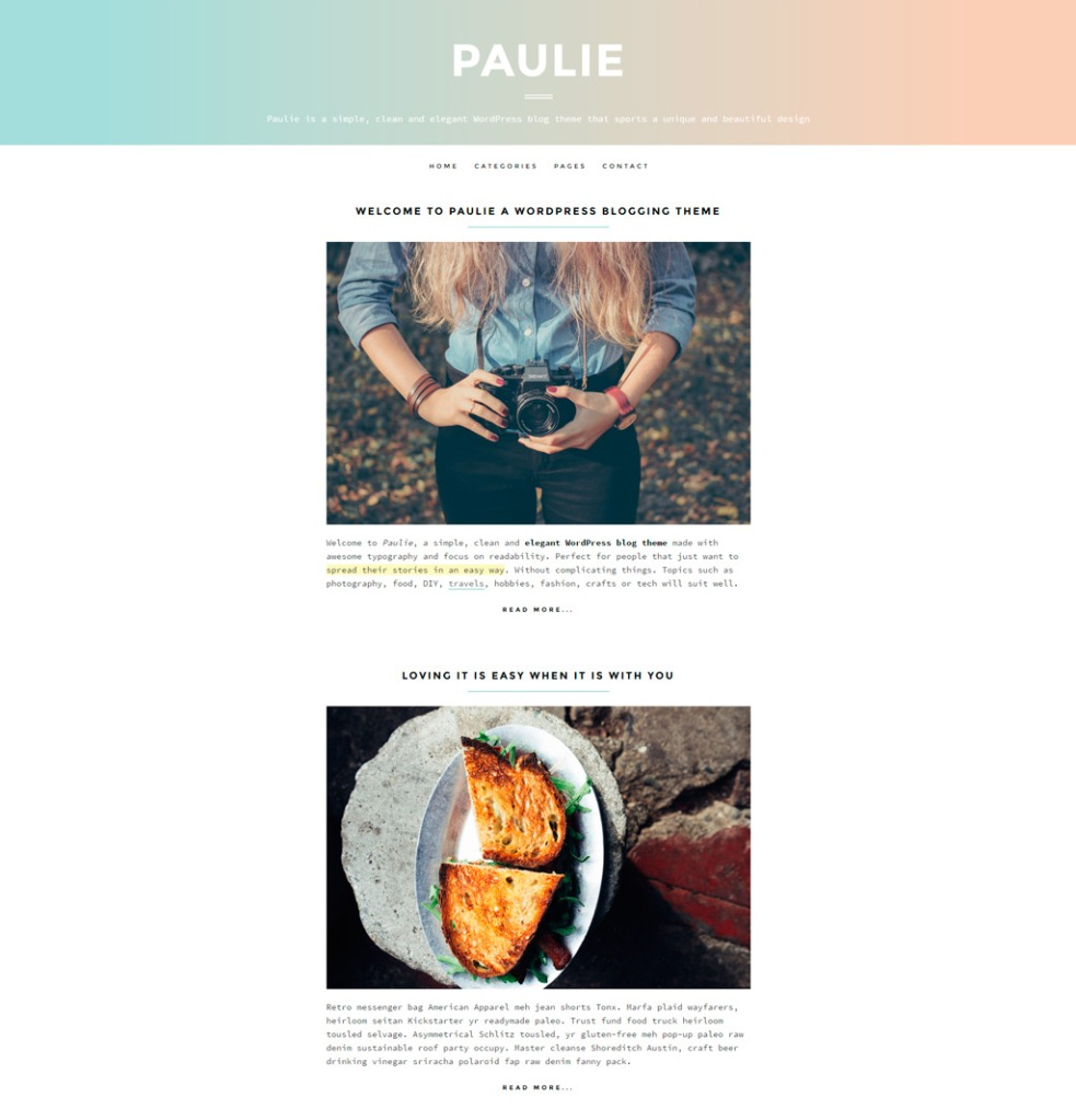 paulie-home-page