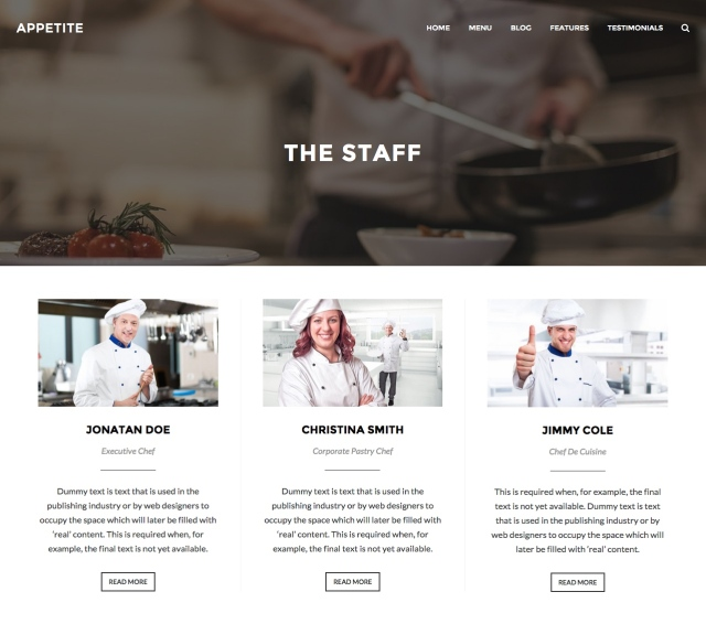 Appetite: Gird Page