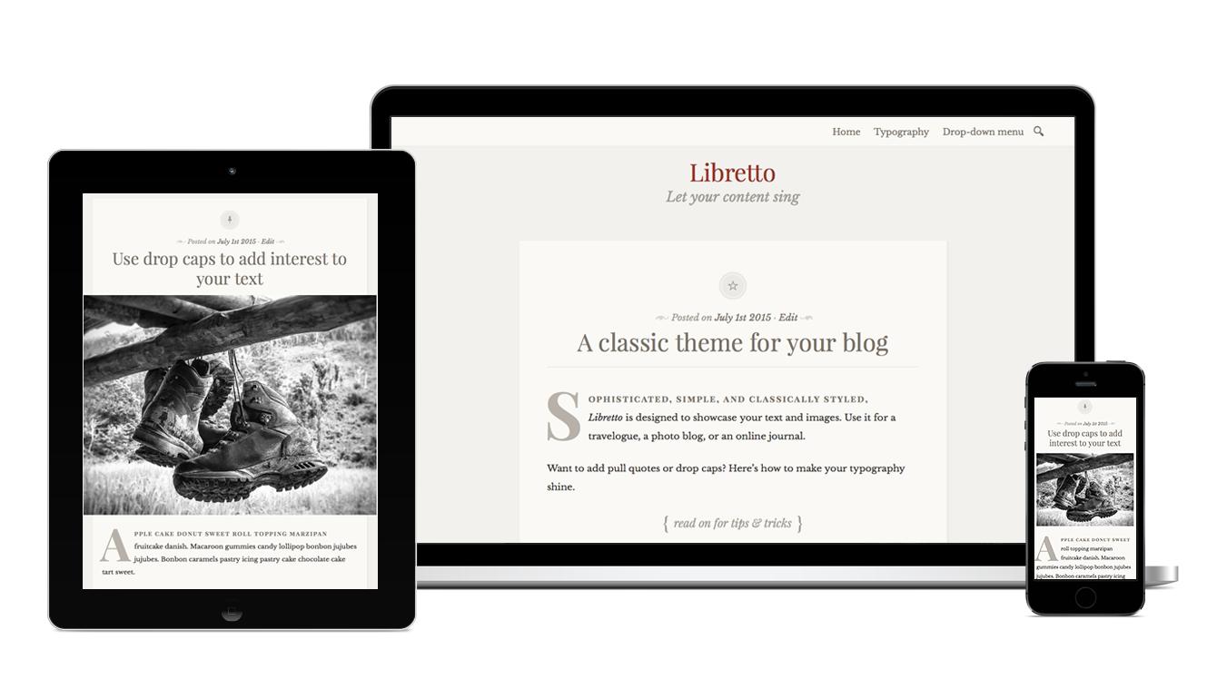 libretto theme u2014 wordpress com