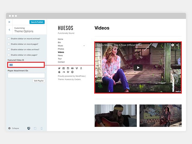huesos-customize-featured-video-documentation