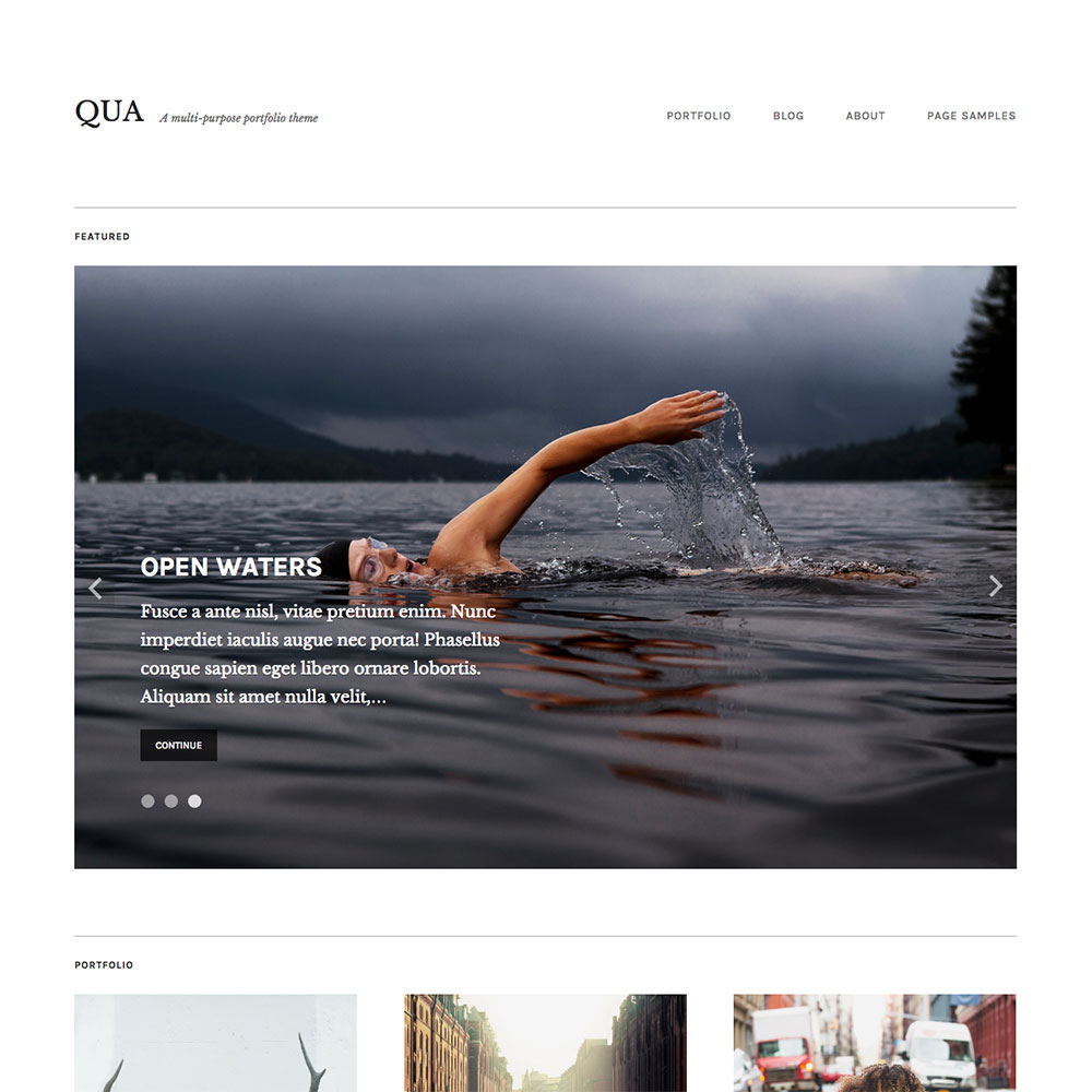 Qua Theme — WordPress.com