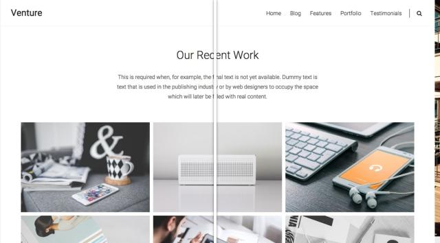 venture: custom background