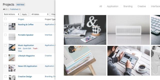 venture: portfolio feature