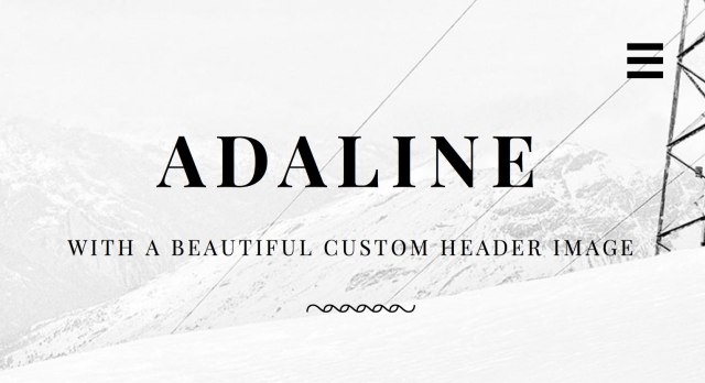 Adaline Custom Header example