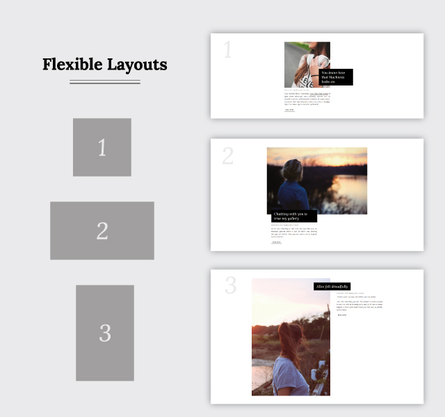 Janice Flexible Layout