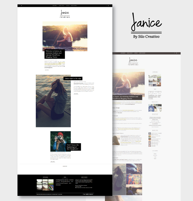 Janice WordPress Home