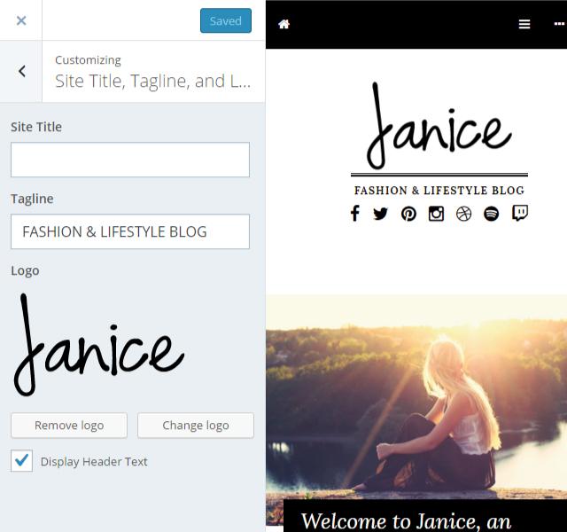 Janice Site Logo