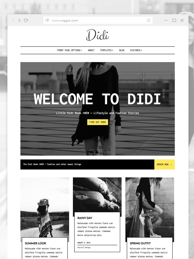 Fashion & Magazine WordPress Theme