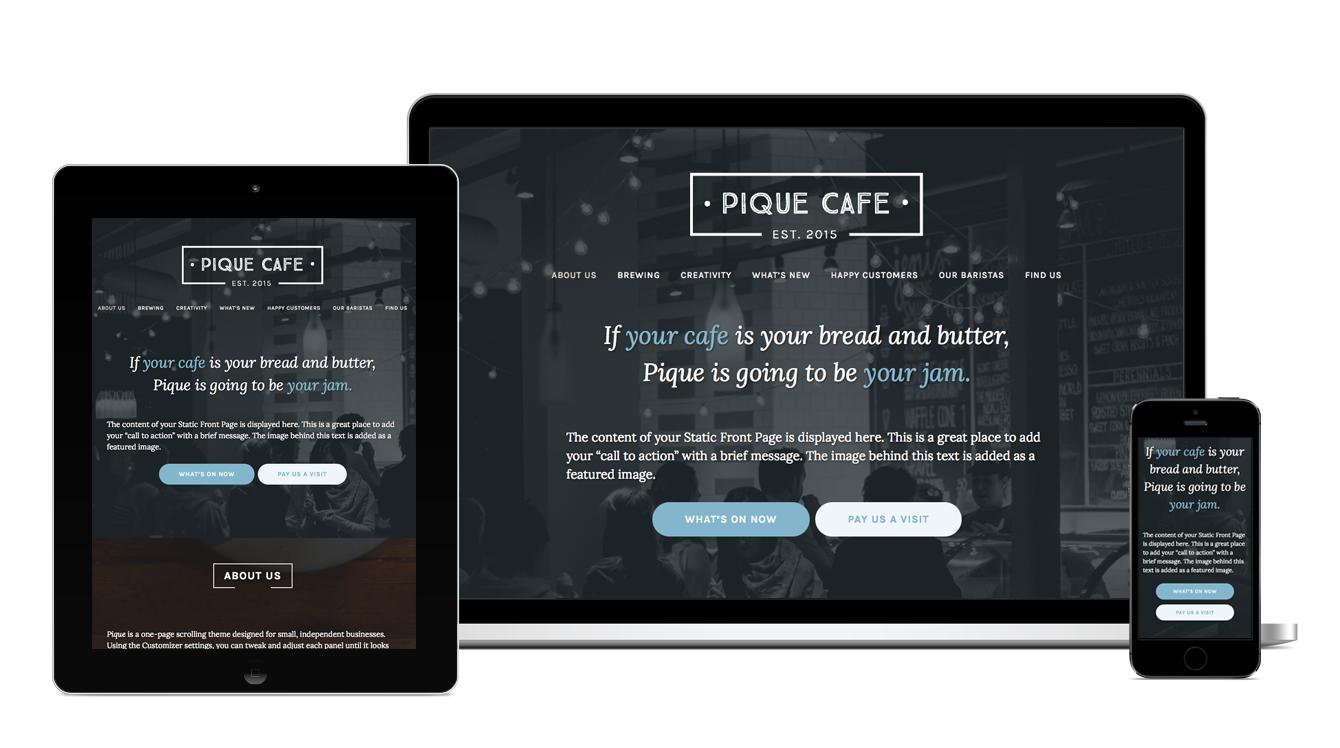 Pique Theme — WordPress.com