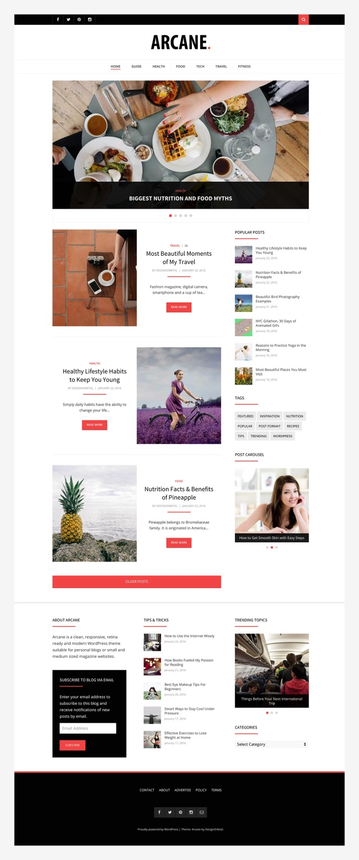 arcane-wordpress-magazine-theme