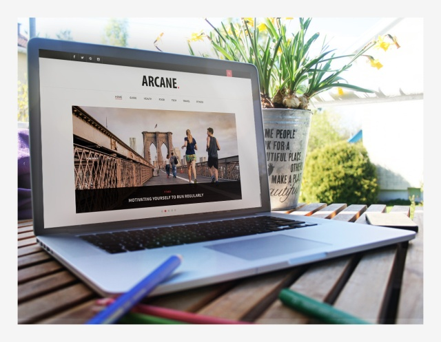 elegant-layout-arcane-wordpress-theme