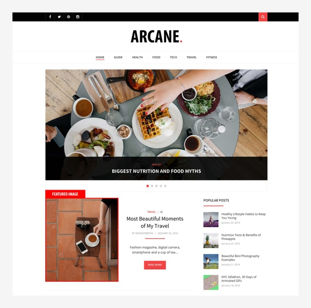 featured-image-arcane-wordpress-theme