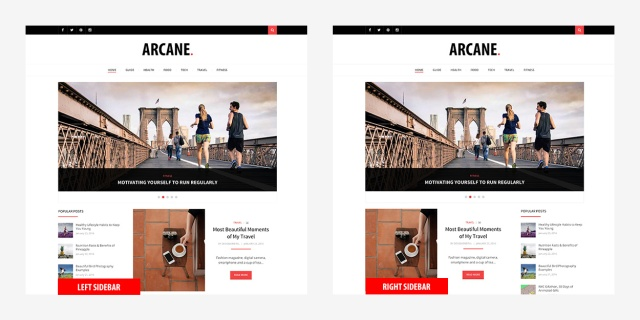 sidebar-position-arcane-magazine-theme