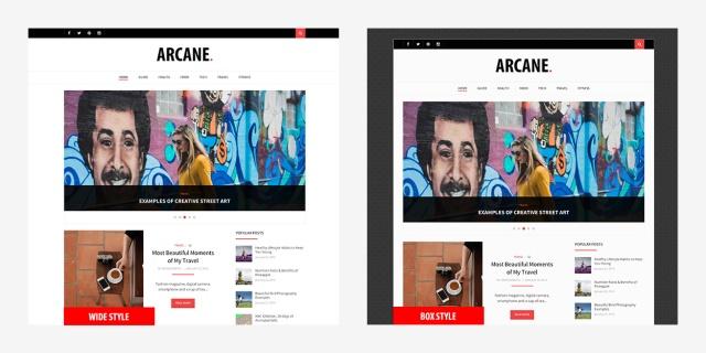 theme-style-box-vs-wide-arcane-wordpress-theme