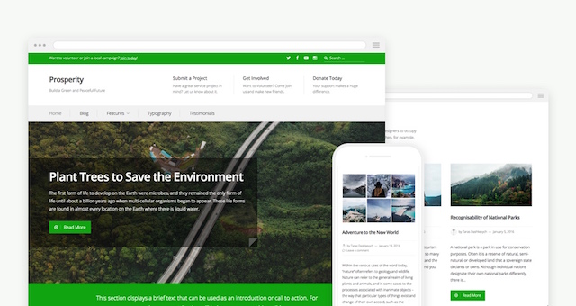 Prosperity Theme — WordPress.com
