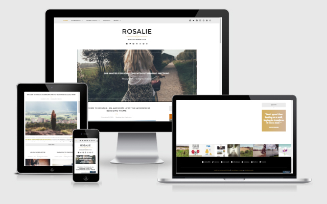 Rosalie responsive design