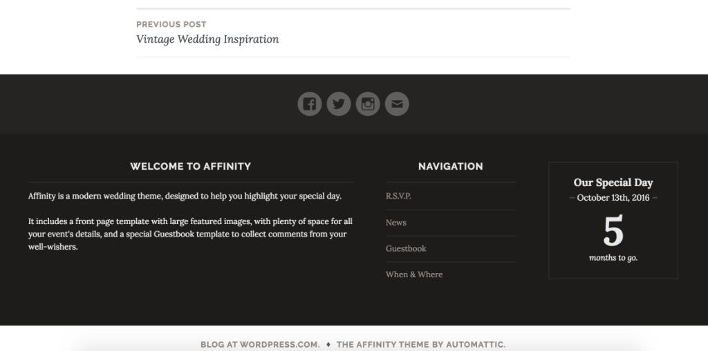 Affinity Theme — WordPress.com