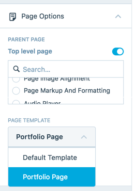 When You First Activate Rebalance, Youu0027ll See Your Posts Laid Out In A  Grid. If Youu0027d Like To Use The Portfolio Page Template As The Front Page Of  Your Site ...  Manual Cover Page Template