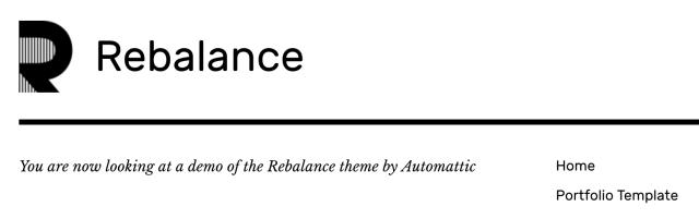 Rebalance Site Logo