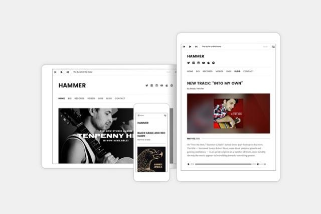 Hammer: Responsive Design