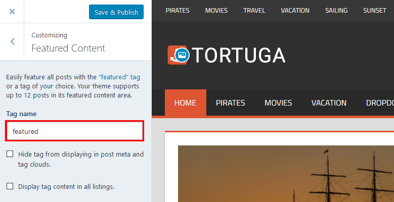 tortuga-featured-content