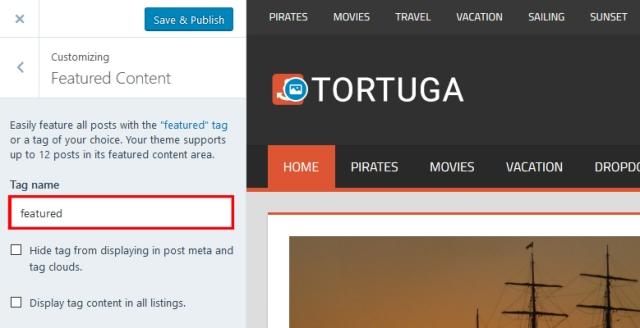 tortuga-featured-content