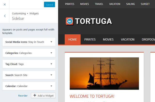 tortuga-widgets