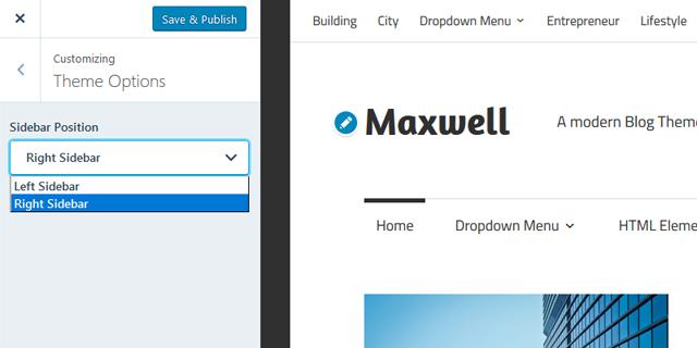 maxwell-sidebar-position