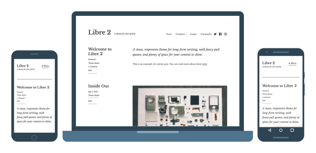 Libre 2 Responsive WordPress Theme