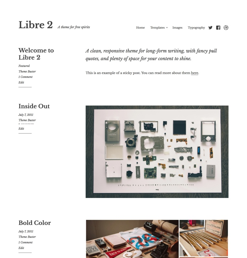 Libre 2 — Professional WordPress Theme by Jetpack