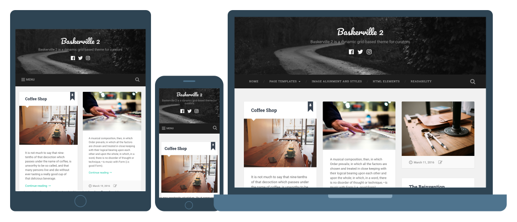 Baskerville 2 Responsive WordPress Theme