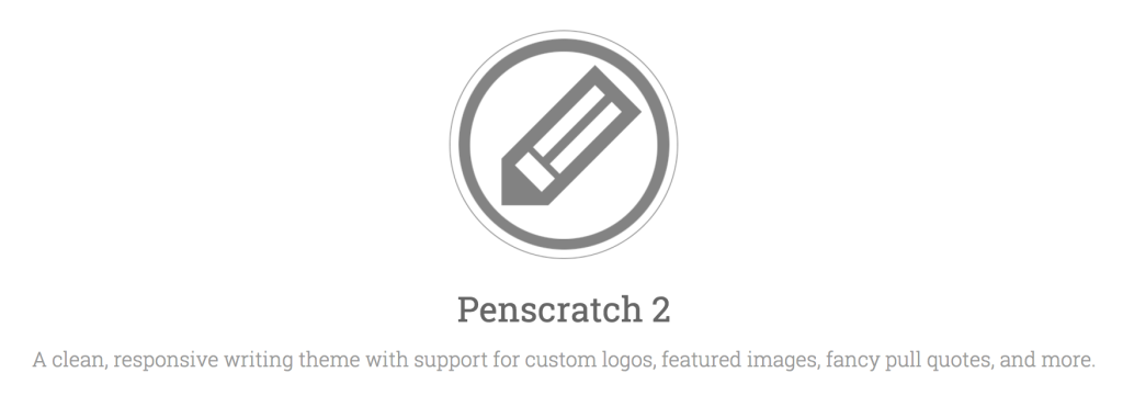 Logo in the header of Penscratch 2