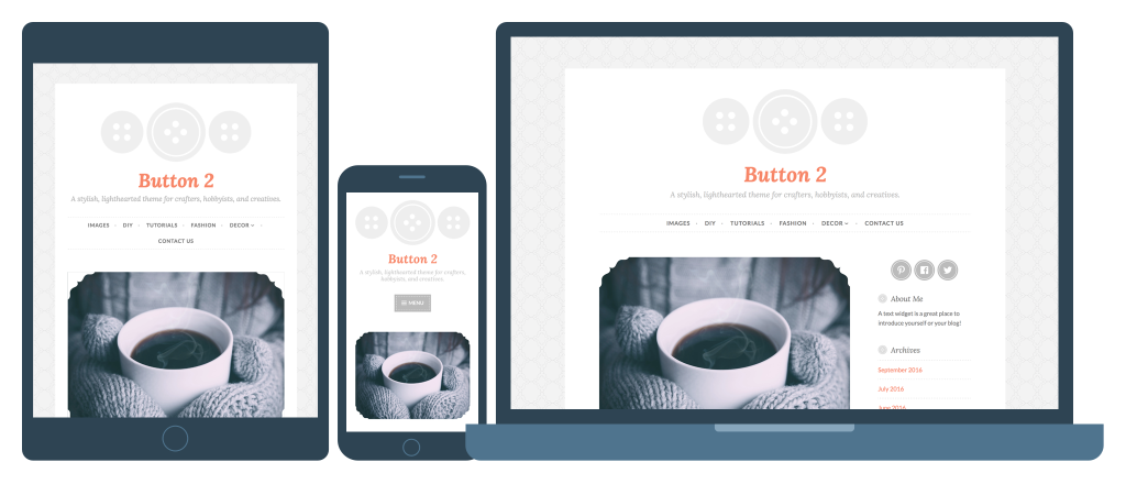 Button 2 Responsive WordPress Theme