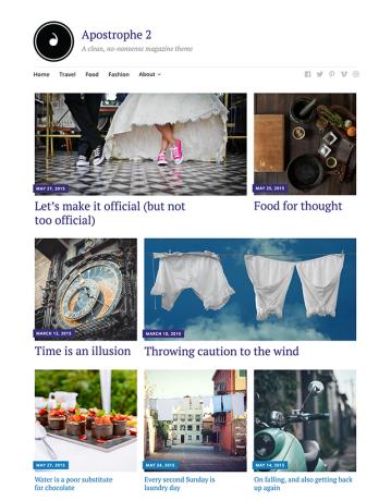 Apostrophe 2 — Professional WordPress Theme by Jetpack