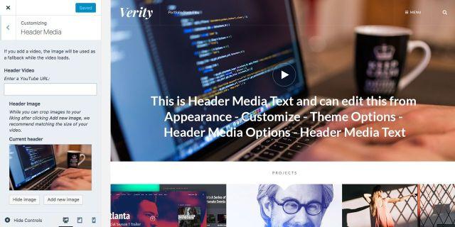 Verity Theme — WordPress com