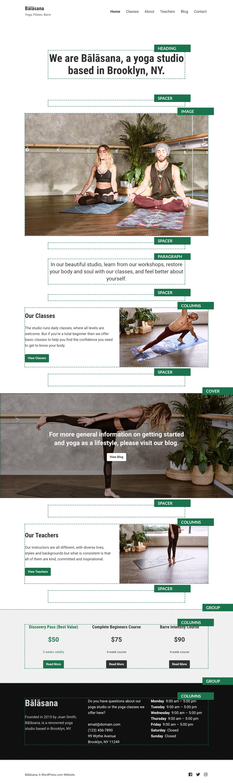 Balasana Theme — WordPress.com